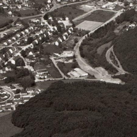 Otto Bauckhage Historisches Luftbild