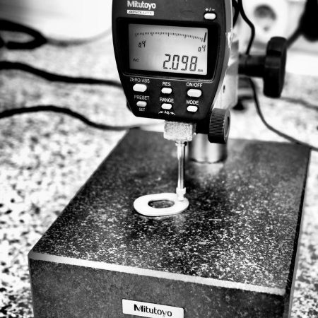 Otto Bauckhage quality control 6 stamping parts